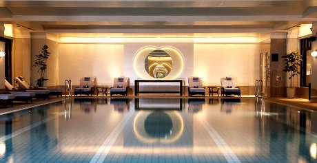 Pool at the Ritz in Tokyo