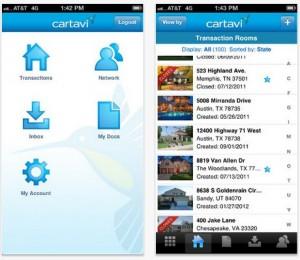 Cartavi for iPad app
