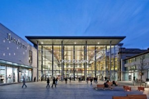 A new Hammerson development - retail space