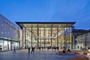 A new Hammerson development - retail space
