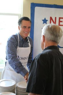 Mitt Romney as the White House Cook?