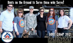 Sgt. Cummings and his family - the Fairway Facebook banner