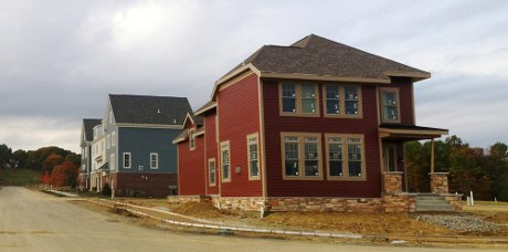 Model homes open
