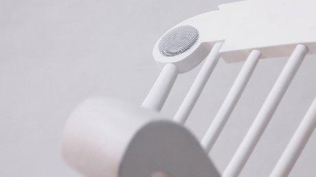 iRock power generating iPad chair