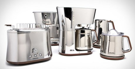 Krups Silver Art Collection