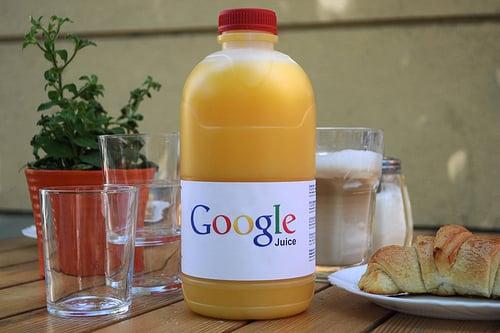 Link juice is essential for ranking real estate sites on Google. Image by Mark Kens via flickr.com
