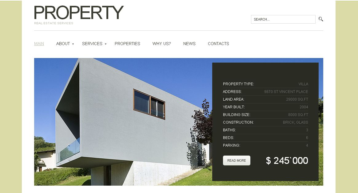 Property WP Theme