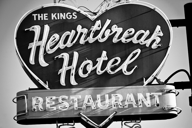 Heartbreak hotel awaits. Courtesy Thomas Hawk