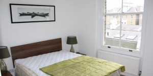 Flat in Chelsea at £550 from Brooks & Gordon