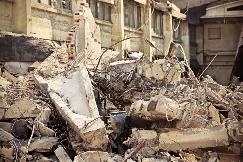Dreams reduced to rubble  © Kalim - Fotolia.com