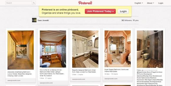 Pinterest can be hugely beneficial for real estate agents