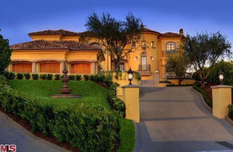 Kim Kardashian and Kanye West new family residence.