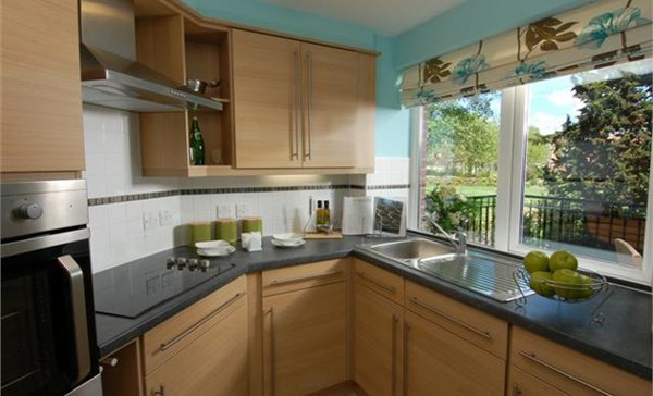 Kitchen one bedroom
