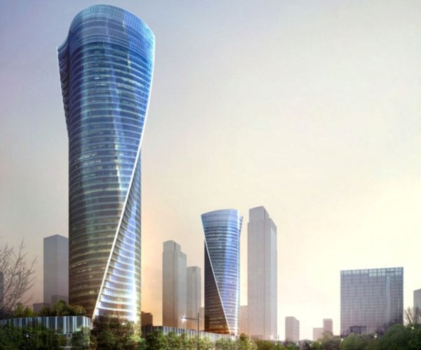 Central Park III rendering - courtesy Songdo IBD
