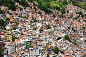 Rocinha is the largest hill favela in Rio de Janeiro