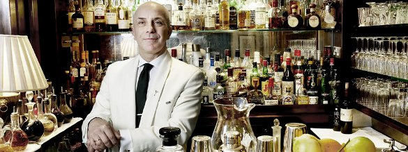 The world famous martinis at Duke's - courtesy the hotel website