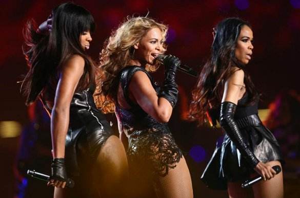 Destiny's Child reunited Super Bowl - via StyleList Facebook