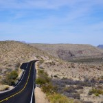 Two lane black top in Texas - courtesy © spejsek - Fotolia.com