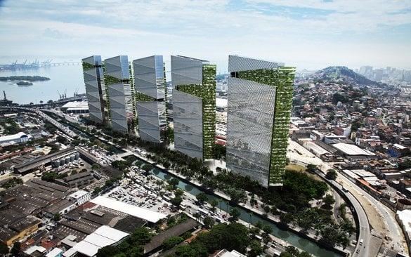 38-floor Trump Towers Rio