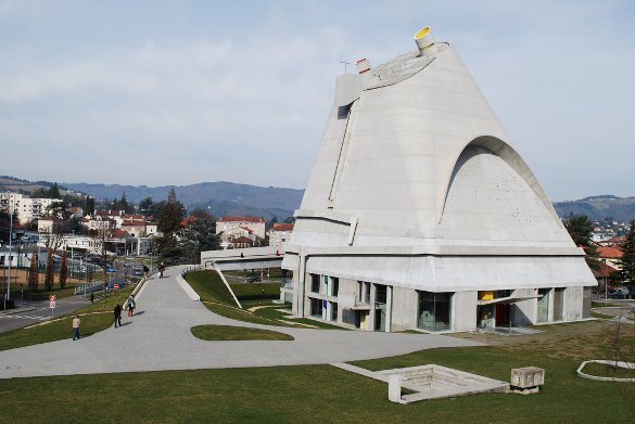 Church of Saint-Pierre Le Corbusier Firminy, France - courtesy