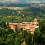 Nearby the Abbey of Monte Oliveto Maggiore - Courtesy © puckillustrations - Fotolia.com
