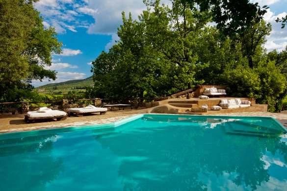 The pool at Villa Allegra - Courtesy IAVRA & Bravo Holiday Residences