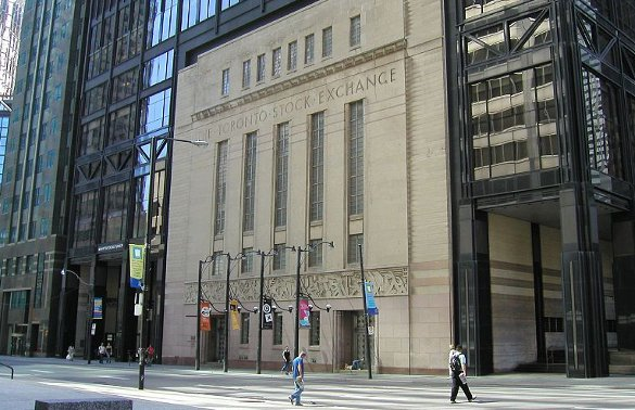 Toronto Stock Exchange - courtesy nodomain.cc