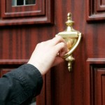 Realtors Go Knock, Knock, Knocking on Homeowner's Doors