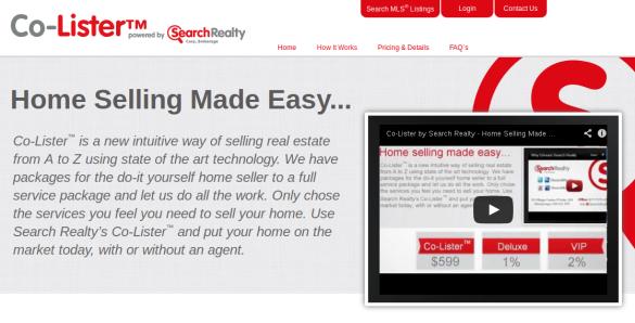 搜索房地产公司宣布出售房屋的新方式