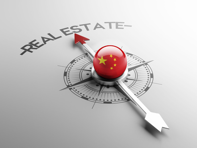 China Real Estate Concept