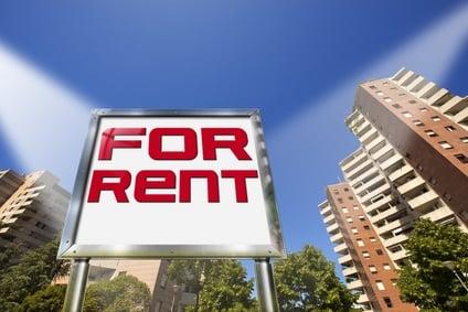 House For Rent - Big Chrome Billboard