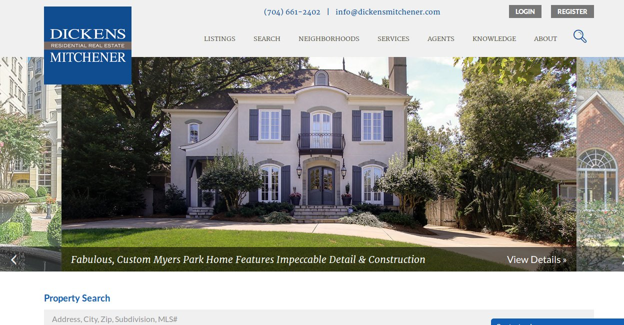 Reviewing charlotte 39 s realtor competition realtybiznews for Dickens mitchener