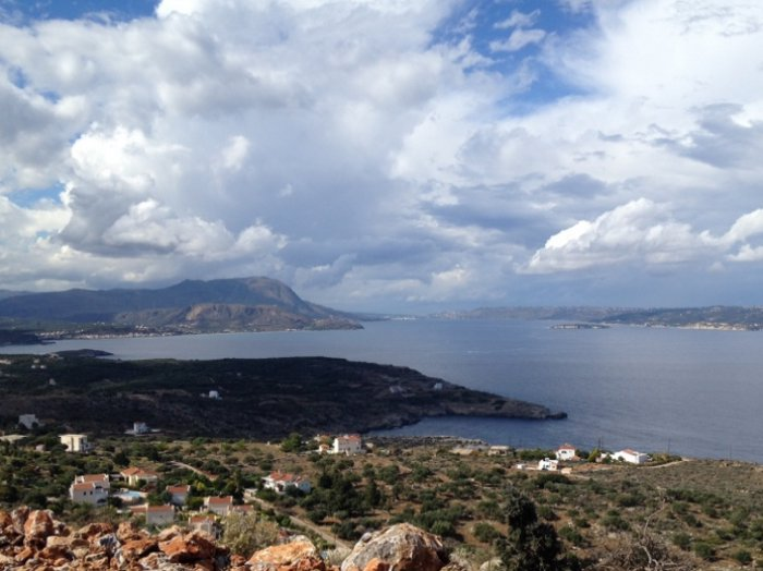 Just one of many possible views - courtesy Euroland Crete