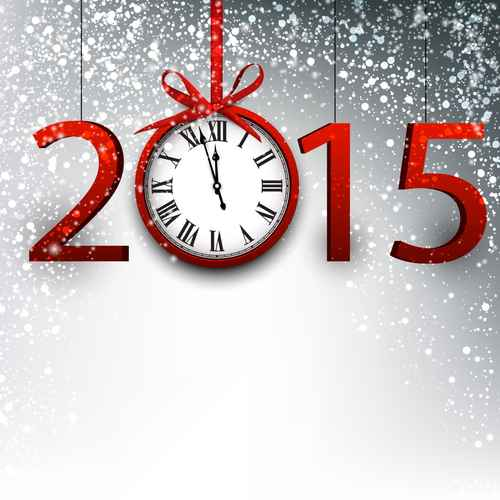 2015 new year background.
