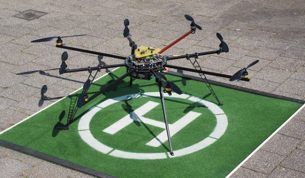 Drones could soon have lift off in real estate