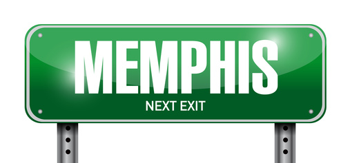 memphis signpost illustration design