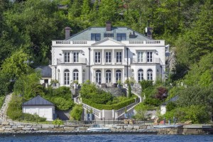 Norway manor house
