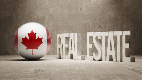 Canada. Real Estate Concept.