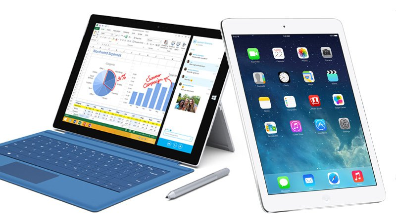 Apple iPad Air 2 vs Microsoft Surface 3: Which is best for realtors? - RealtyBizNews: Real Estate News
