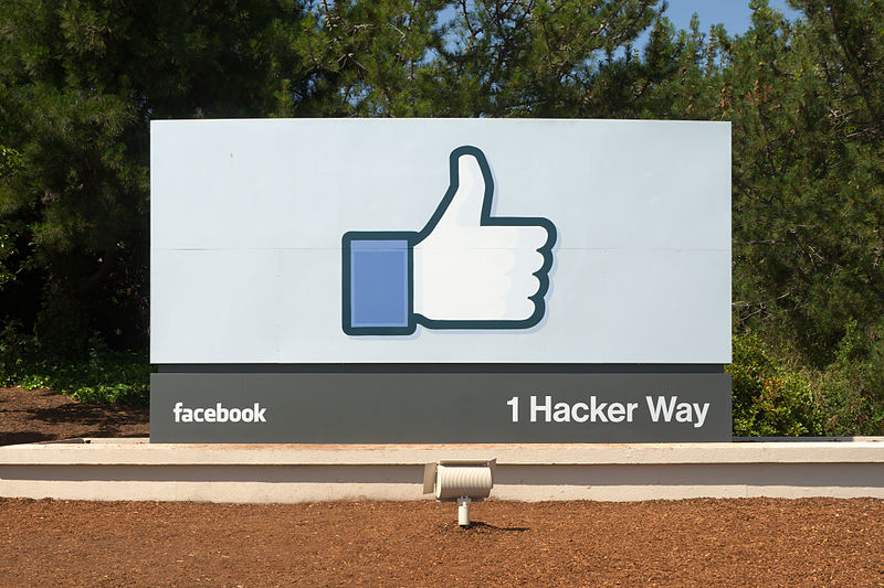 Facebook Headquarters Entrance
