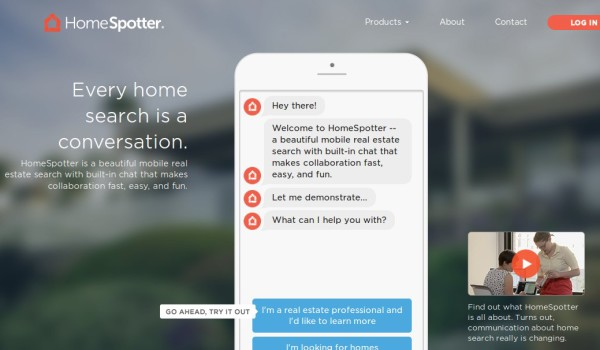 HomeSpotter updates mobile search app with messaging tools