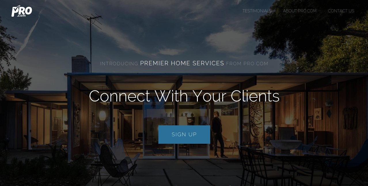 prodotcome premier home services