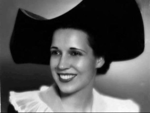 A young Ebby Halliday. (Image credit: NBC Dallas - Fort Worth)