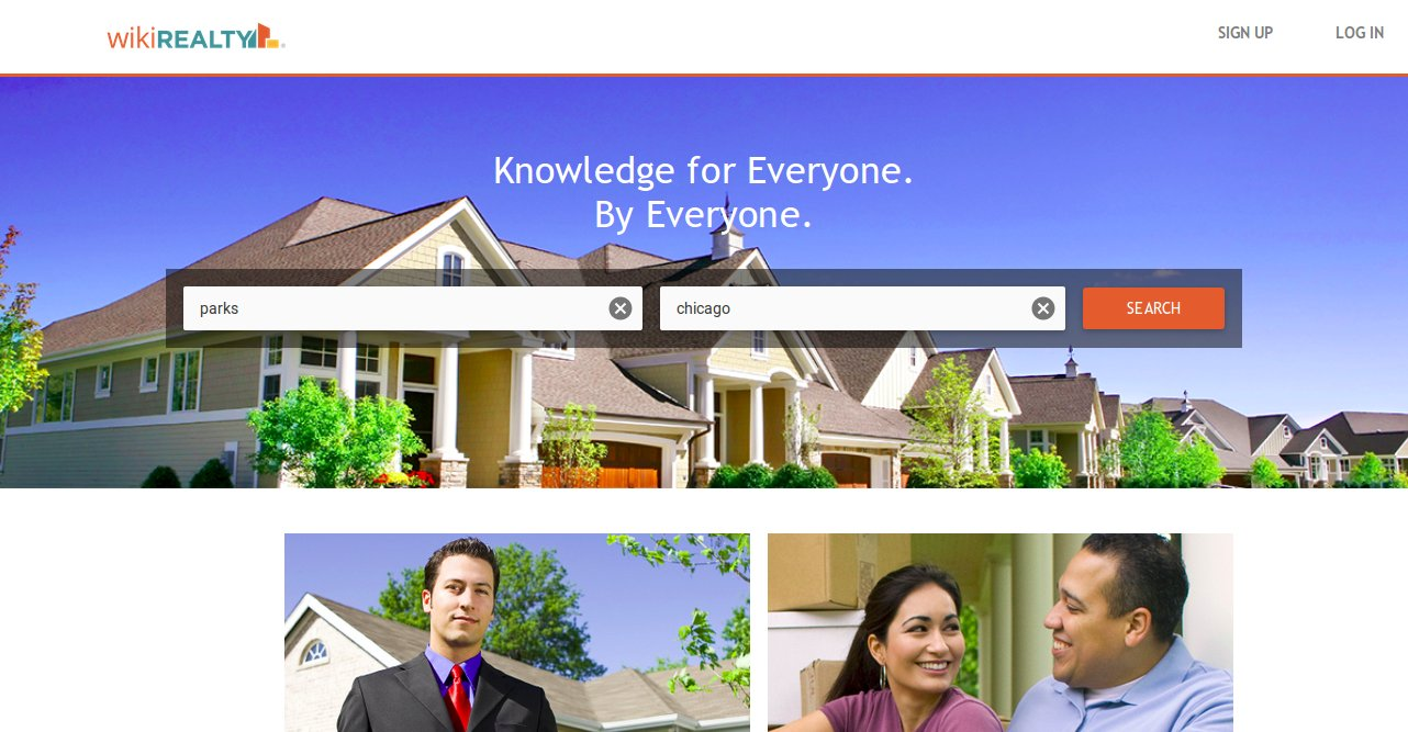 Wikirealty home