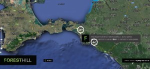 Google Map for the Black Sea