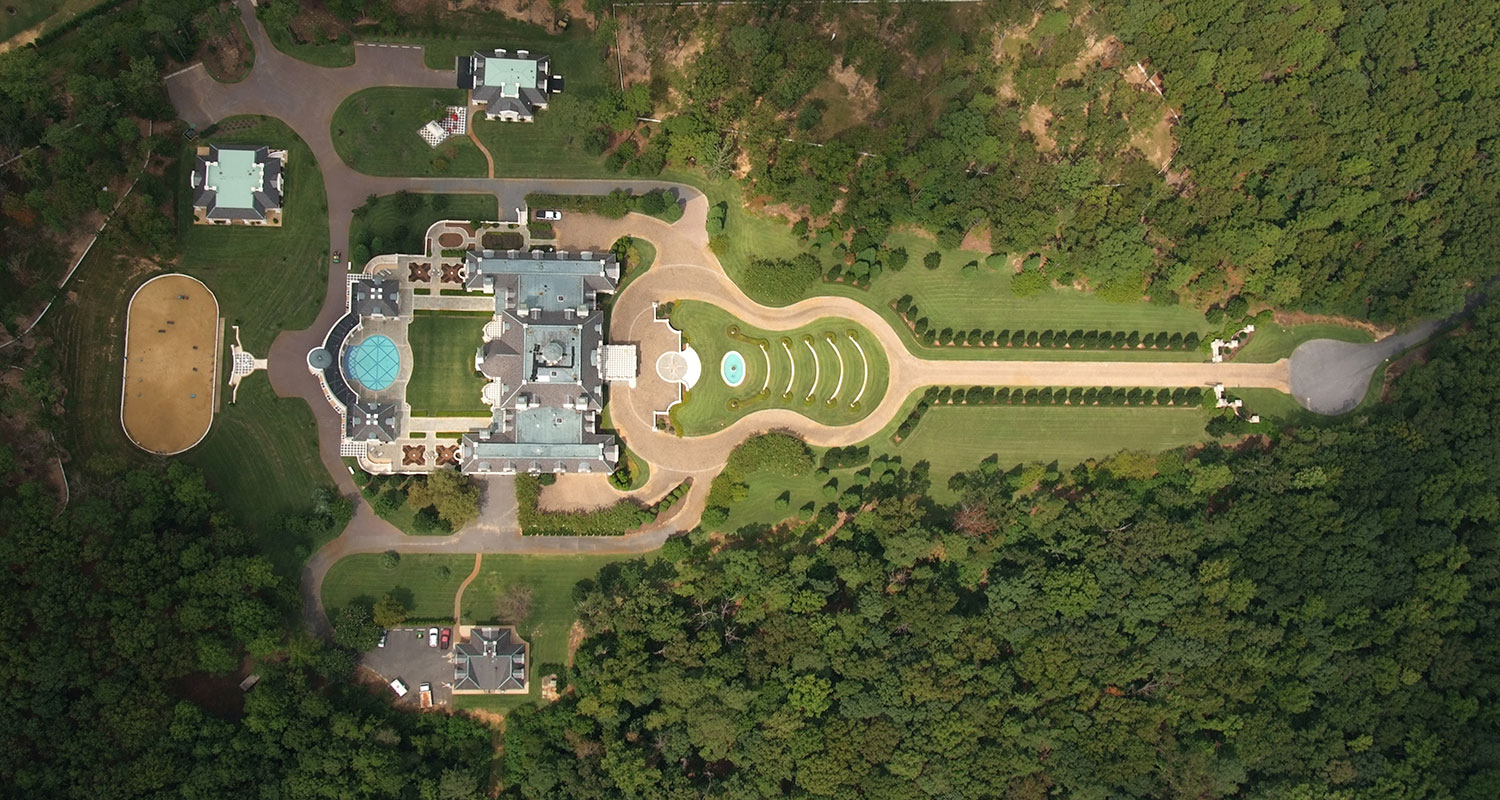A bird's eye view of this magnificent $1 home