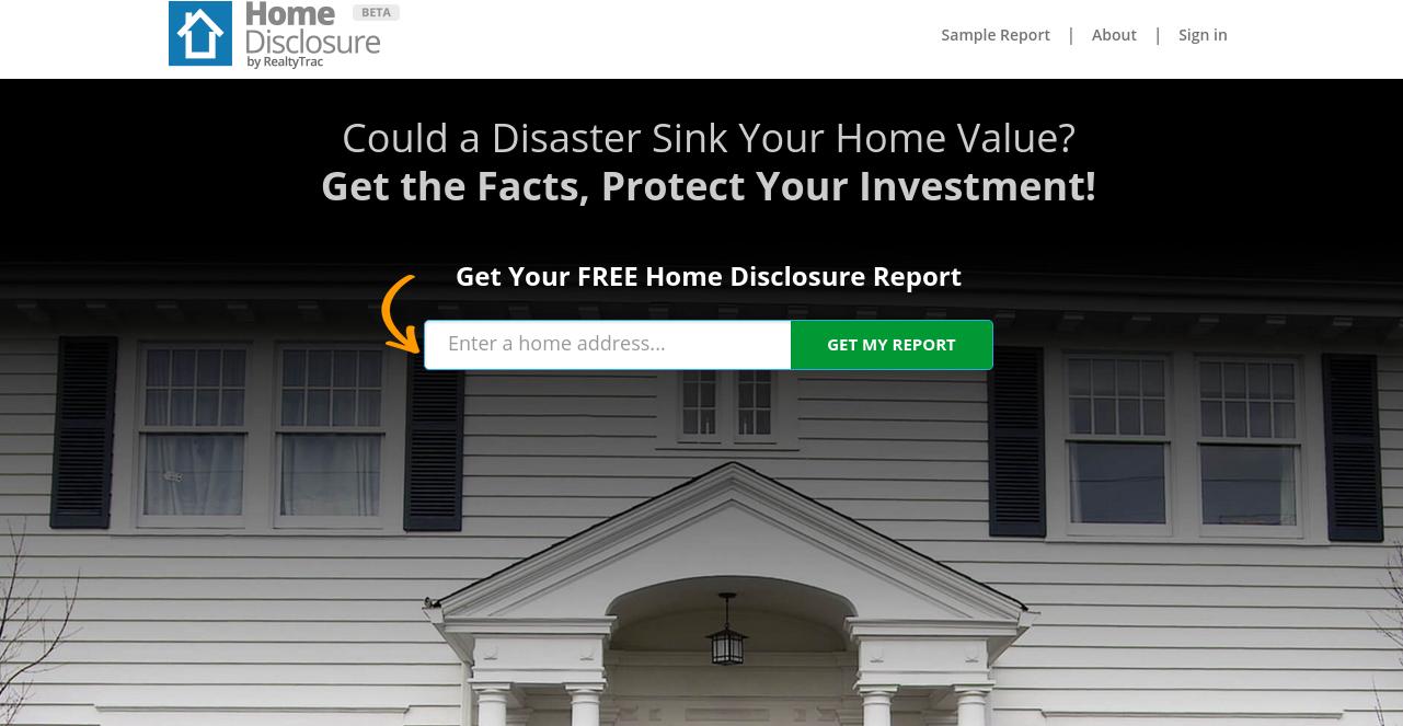 Home disclosure