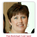 Louisville realtor Pam Ruckriegel celebrates a successful 2015