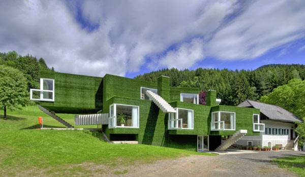 Green Building Materials For Sustainable Houses Of The