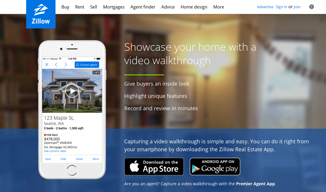 Zillow Video Walkthrough